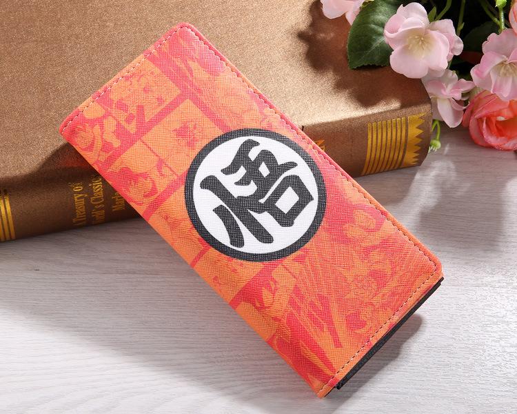 High quality anime gift Super saiyan Goku high resolution printing anime game wallet Gift for boyfriend long anime wallet P068(China (Mainland))