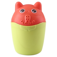 Buy Baby Contrast Cute Bear PP Rinser Kids Children Shower Spoon Baby Tubs Bath Wash Cup Shampoo Cup Splashing Cup Washing Head for $3.49 in AliExpress store