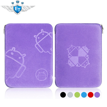 UPS Free shipping 8 inch Mofi Case with Zipper for 8 inch tablet pc pouch bags android robot