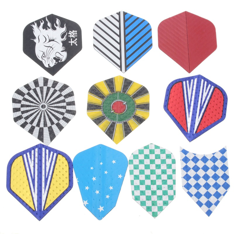 Hot Multi Styles Dual Theme Colorful Styles Dart Flights Tiles Shaft Darts Tips Case Replacement Accessory 4 Pattern Seclection<br><br>Aliexpress