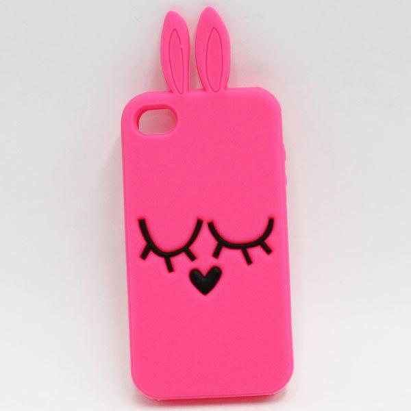 Online Kaufen Grou00dfhandel pink bunny iphone 4 case aus China pink ...