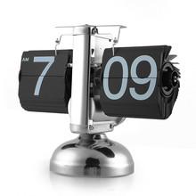 Flip Clock Retro Scale Digital Stand Auto Flip Desk Table Clock Reloj Mesa Despertador Flip Internal