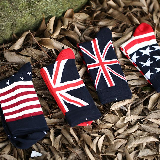 2016 American Flag Socks Brand Striped Elite Men Sport Socks For Men/Women Harajuku Cotton Calcetines Male Stockings MST004(China (Mainland))