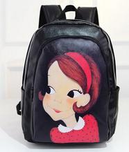 Sale New shoulder bag 2016 Miss Han Ban pu backpack outdoor leisure travel whole mochilas feminina boys jordans CN5052(China (Mainland))