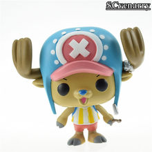 Funko Pop One Piece Figure Luffy Chopper Ace Action & Toy Figures Collection Toy Baby Toys(China (Mainland))