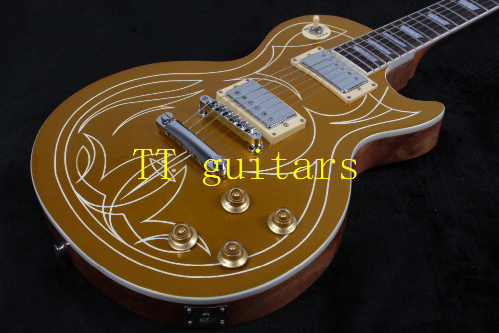 2016 New Arrival Hot Guitar 1960 LP Standard Gold Top VOS in OEM TT guitars with free shipping<br><br>Aliexpress