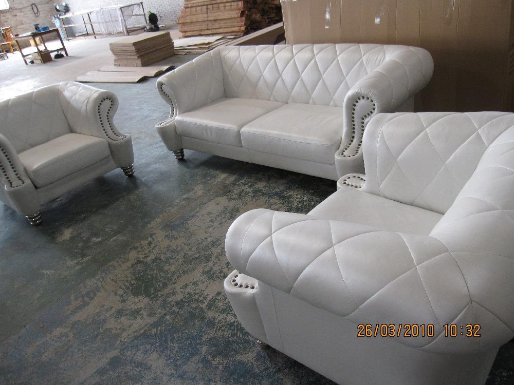 En cuir chesterfield meubles promotion achetez des en cuir for Canape cuir haute qualite