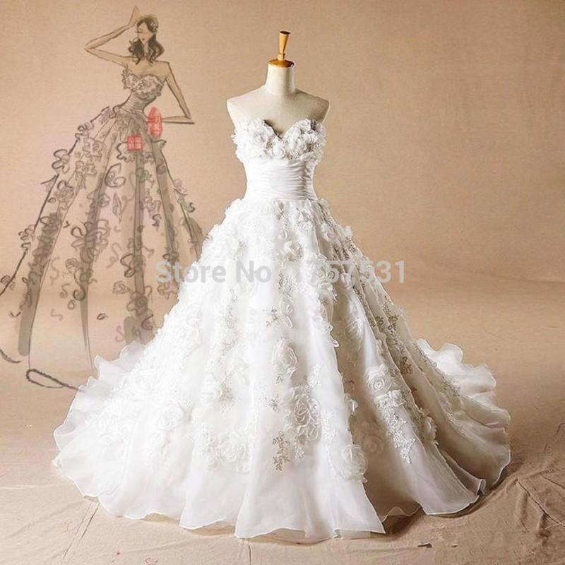 Elegant modest simple wedding dress 2016 real photo bridal for Real simple wedding dresses