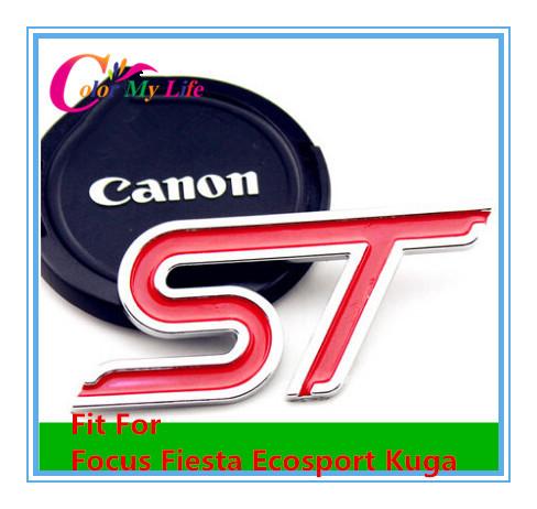 Good Quality ST Sticker Car Sticker Label Ecosport 3D Sticker Sport Series For Ford Focus Fiesta ecosport kuga Mondeo Everest(China (Mainland))