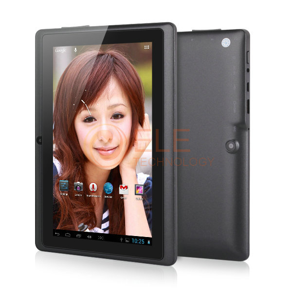 cheapest dual core 7 tablet pc mid q88 ATM7021 HDMI 512MB RAM 4GB ROM android 4.2 wifi capacitive screen(China (Mainland))