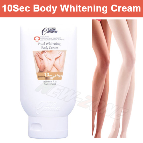 Whitening Body Cream 10 second Instantly whitening Body Lotion Skin Care Moisture for whole body 180ML Free Shipping