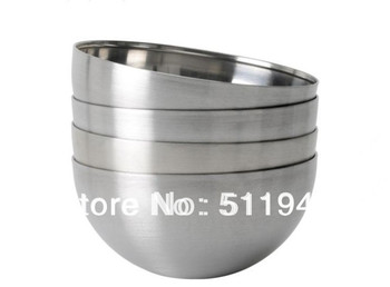 4 pieces/lot  5x2 cm stainless steel small bowls
