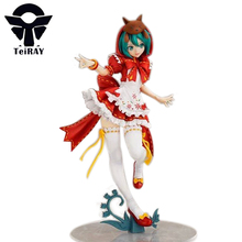 Japan Anime figurines Hatsune Miku Susan little Red Riding-hood mini pvc collectible action figures model toy doll 9 inch - TeiRAY store