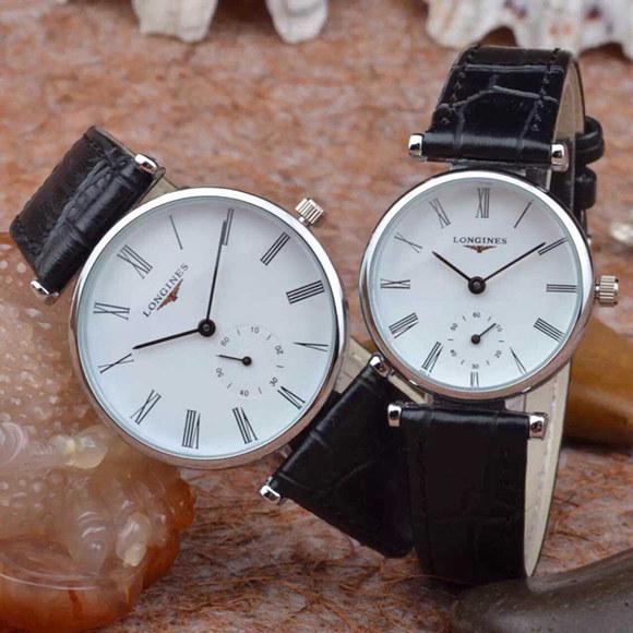 Women's quartz watch trend lovers table ultra-thin women's strap watch men and women watches(China (Mainland))