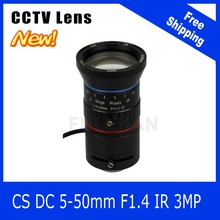 Buy 3Megapixel Varifocal CCTV Lens 5-50mm CS Mount DC IRIS 720P/1080P Box Camera/IP Camera Free Industrial Co.,Limited) for $52.00 in AliExpress store
