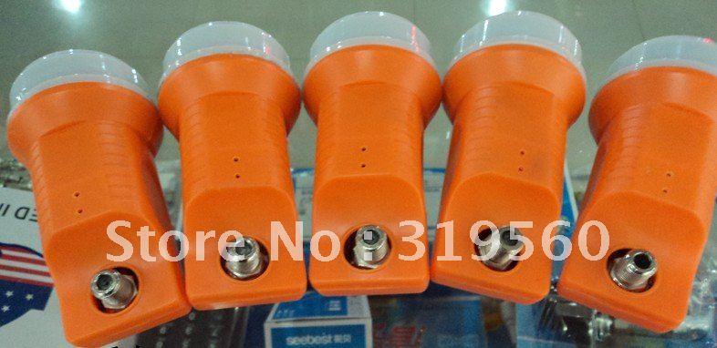 10750 Ku band lnb, High Gain - High Stability Single Output LNBF, waterproof slide down TP-1075S(China (Mainland))