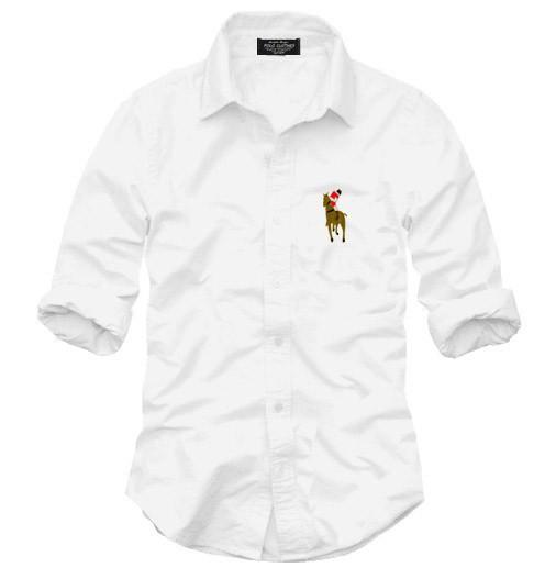 2015 new dress shirt men High quality Men's shirts Long sleeve autumn solid color logo casual shirts for man(China (Mainland))