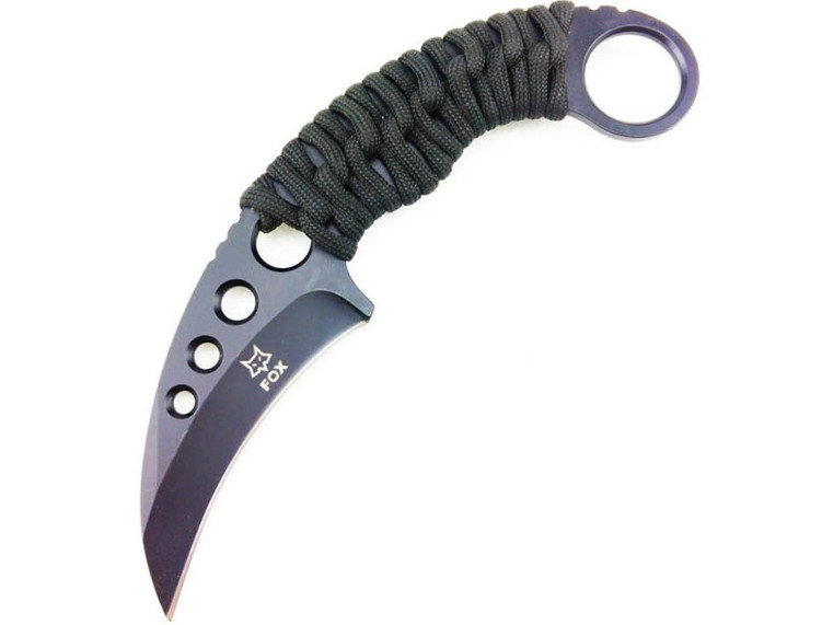 Buy NEWEST The one Karambit knife 7CR17 blade rope handle sharp camping survival tactical pocket claw multi EDC rescue tool cheap