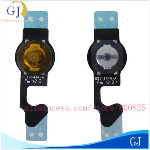 10pcs/lot for iPhone 5 home button flex, 5G home button ribbon flat cable , Brand new,Free shipping by Air mail(China (Mainland))