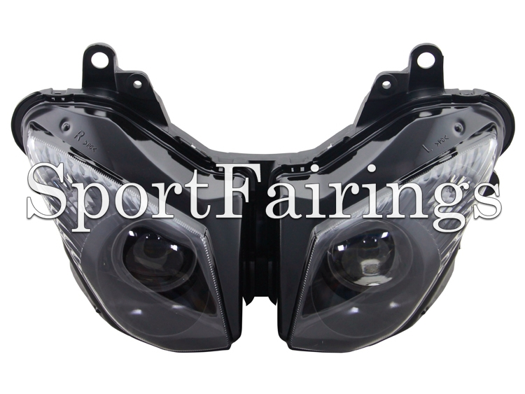 Headlight Assembly Fit Kawasaki ZX6R ZX-6R Year 09 10 11 12 2009 2010 2011 2012 Sportbike Motorcycle Headlamp Clear Lens New(China (Mainland))