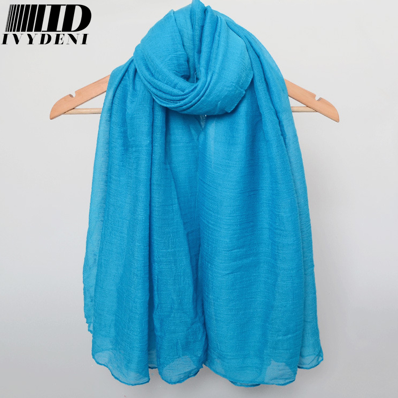 19color!180*90cm 2016 New Spring Cotton Scarf Women Thin Long Scarf Fashion Oversized Autumn Designer Scarf Summer Beach Cove Up(China (Mainland))