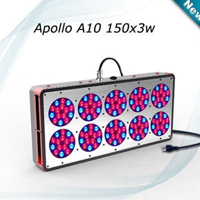 Wholesale Freeshipping 450w Apollo led grow light 10 Module design led fixture for plants growth Flower indoor greenhouse(China (Mainland))