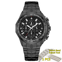 Relogio Masculino montres hommes 2019 Top marque de luxe WWOOR doré chronographe hommes montres or grand homme montre-bracelet homme 2019(China)