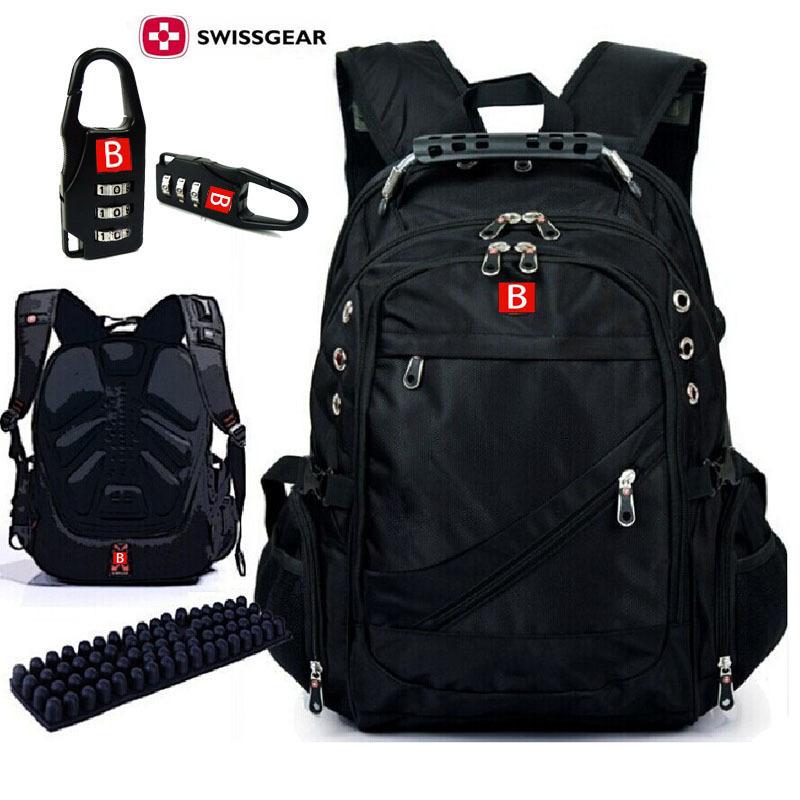Swissgear Wenger backpack 15 inch Laptop bag Men and Women Double Shoulder Travel Swisswin Backpack School Computer Bag Mochilas(China (Mainland))