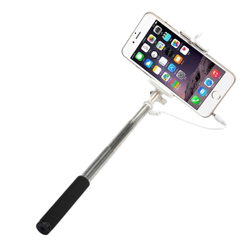 Гаджет  excellent quality2015 selfie stick Self Portrait Handheld Mini Extendable Fold Self-portrait Stick Holder For Cell Phone monopod None Бытовая электроника
