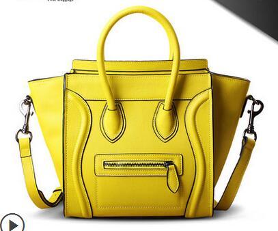 100% Genuine Leather Handbags M Ladies Totes K Fashion Smiley Bag DK Famous Brand YL bag Women Messenger Bags obag Shoulder Bags<br><br>Aliexpress