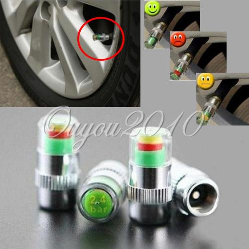 Best Promotion New Car 36 PSI Tire Pressure Monitor System Caps Sensor Indicator 3 Colors Eye