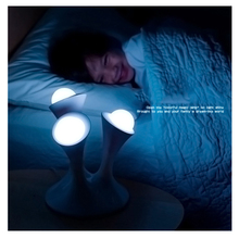 7 Color Changing Night Light Glowing Balls Creative LED Lamps Mushroom Style Table Lamp Night Lamps Support EU/US/UK/AU Plug(China (Mainland))