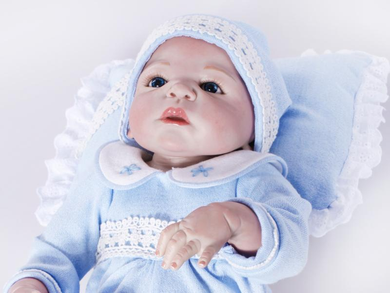 New arrival 20inch/50cm cute full silicone baby alive bonecas reborn dolls babies(China (Mainland))