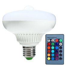 2016 High Quality 12 LED PIR Infrared Motion Sensor Lamp Stairs Light E27 85-265V 1200LM 3000K for Home Hotel Indoor Decor(China (Mainland))