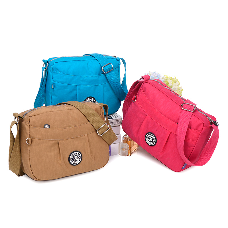 JINQIAOER New Women Messenger Bags Crossbody Bag Nylon Waterproof Shoulder Bag Designer Handbags High Quality Ladies Kiple(China (Mainland))