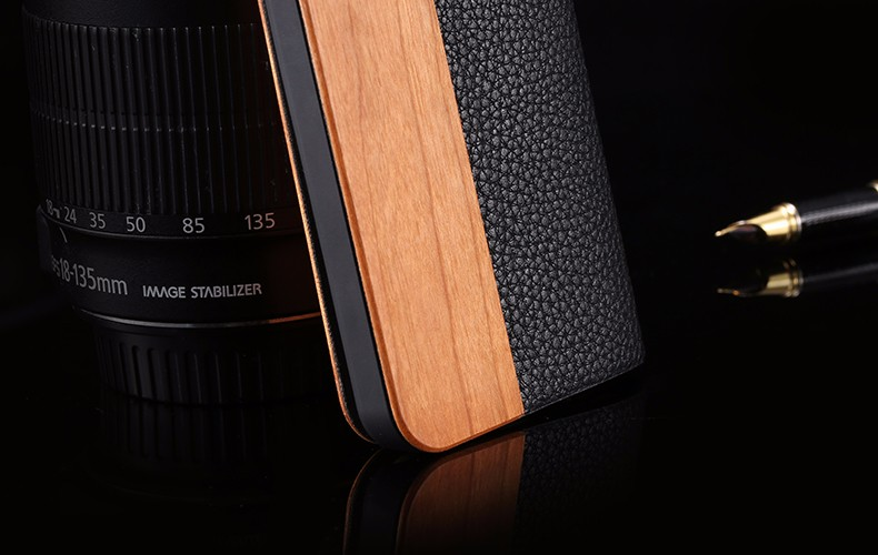 Vintage Genuine Bamboo Wood Flip Leathe Case For iPhone 6 6S Plus Real Rosewood Wooden Wallet Cover For iPhone 7 7 Plus Card Slot  (19)