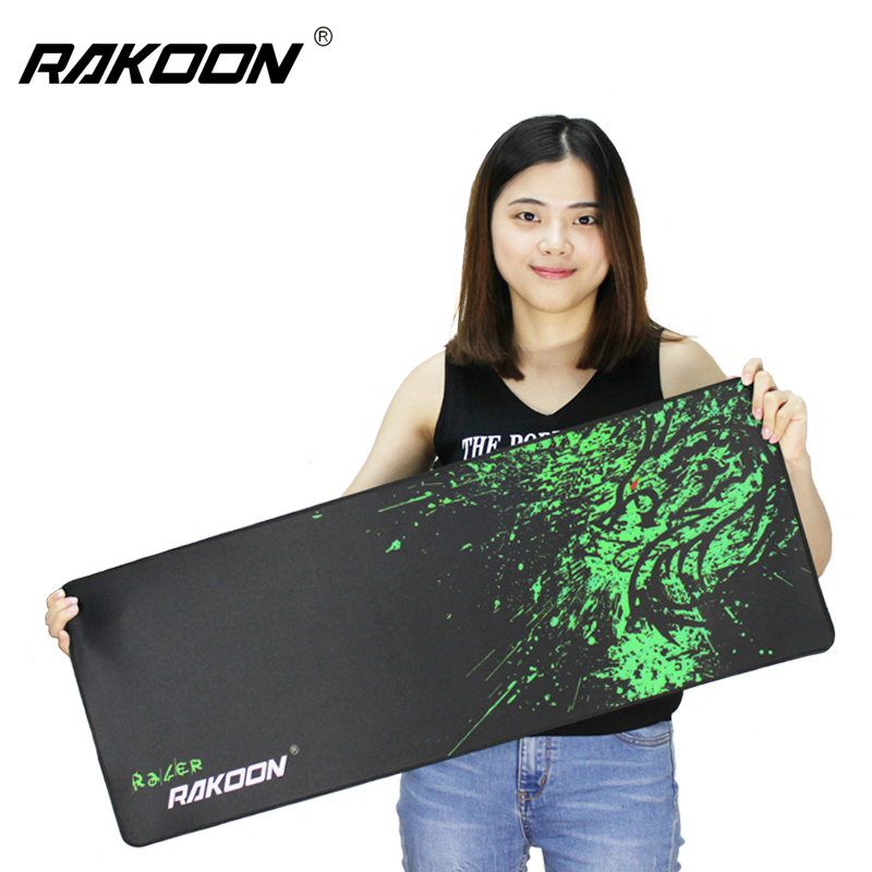 Rakoon Large Gaming Mouse Pad Computer Game MousePad World of Tanks Anime Locking Edge Mouse Mat for Dota2 CSGO LOL High Quality(China (Mainland))