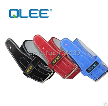 2014new weight lifting  top professional bodybuilding weightlifting belt  leather protection belt squat  training men and women