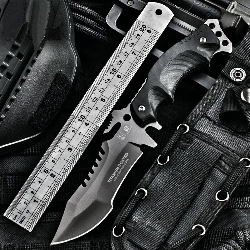 HX OUTDOORS knife Camping saber tactical fixed knife zero tolerance Hunting survival tools cold steel folding knife Karambit(China (Mainland))
