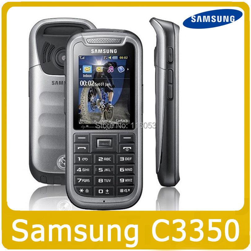 Original Samsung C3350 Cell Phone Unlocked GSM Cheap Phone Free Shipping Good Refurbished(China (Mainland))