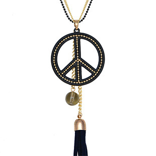Hot!Free shipping Accessories decoration tassel long necklace female accessories long design crystal fashion
