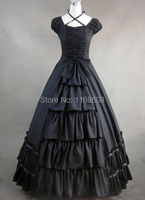 black victorian style dresses - photo #4