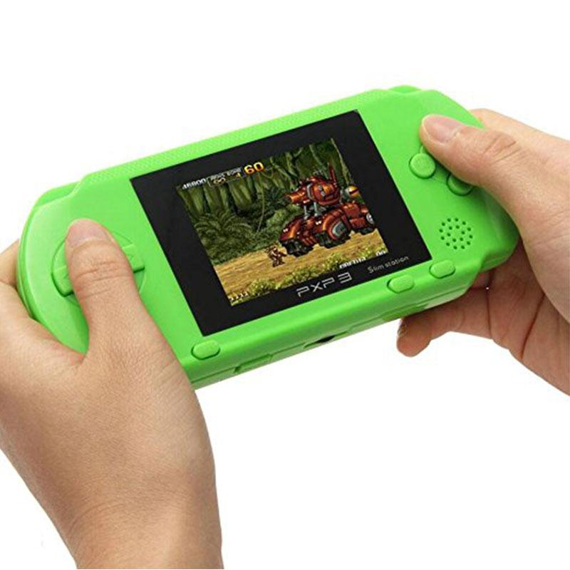 HOT SALE Quality For PXP 3 Game Console Handheld Portable 16 Bit Retro 150 Games For Kids High Quality Christmas Gift(China (Mainland))