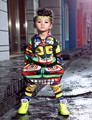 New fashion maya children s clothing set dance wear Costumes Jamaica Totem kids sport suits Hip