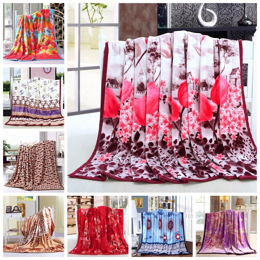 Ferrets thickening blanket wool blankets 150 x200cm flannel Blankets, coral fleece blankets(China (Mainland))