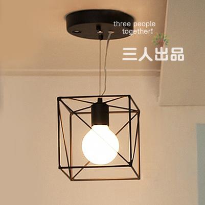 Фотография Modern brief western style  iron pendant light restaurant lamp fashion bar pendant light balcony lamp aisle lights free shipping