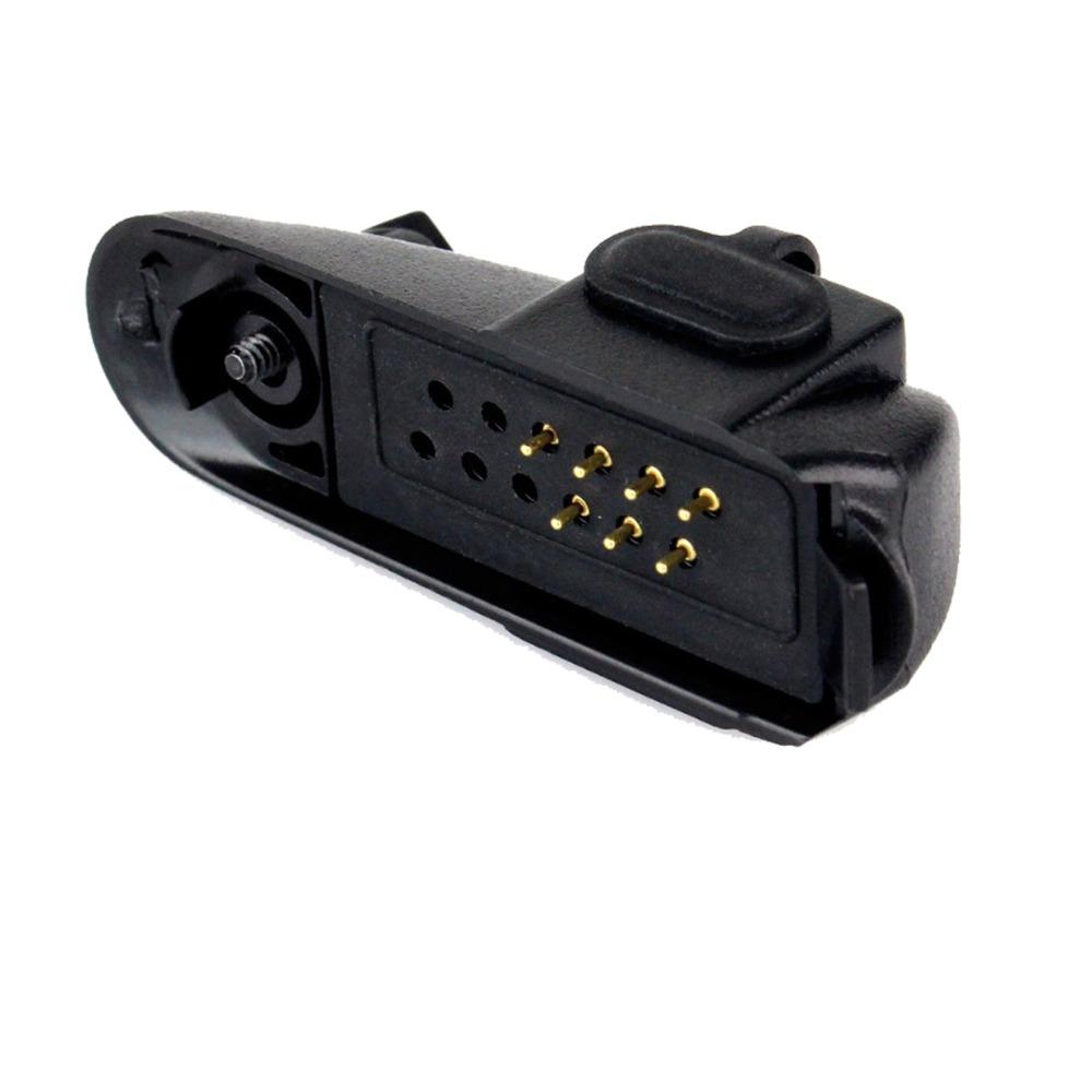 Audio Adapter for Motorola GP328 GP340 PTX760 PRO5150 to 2pin Jack 3.5mm/2.5mm GP300 GP88S Ham Radio Walkie Talkie J6226A(China (Mainland))