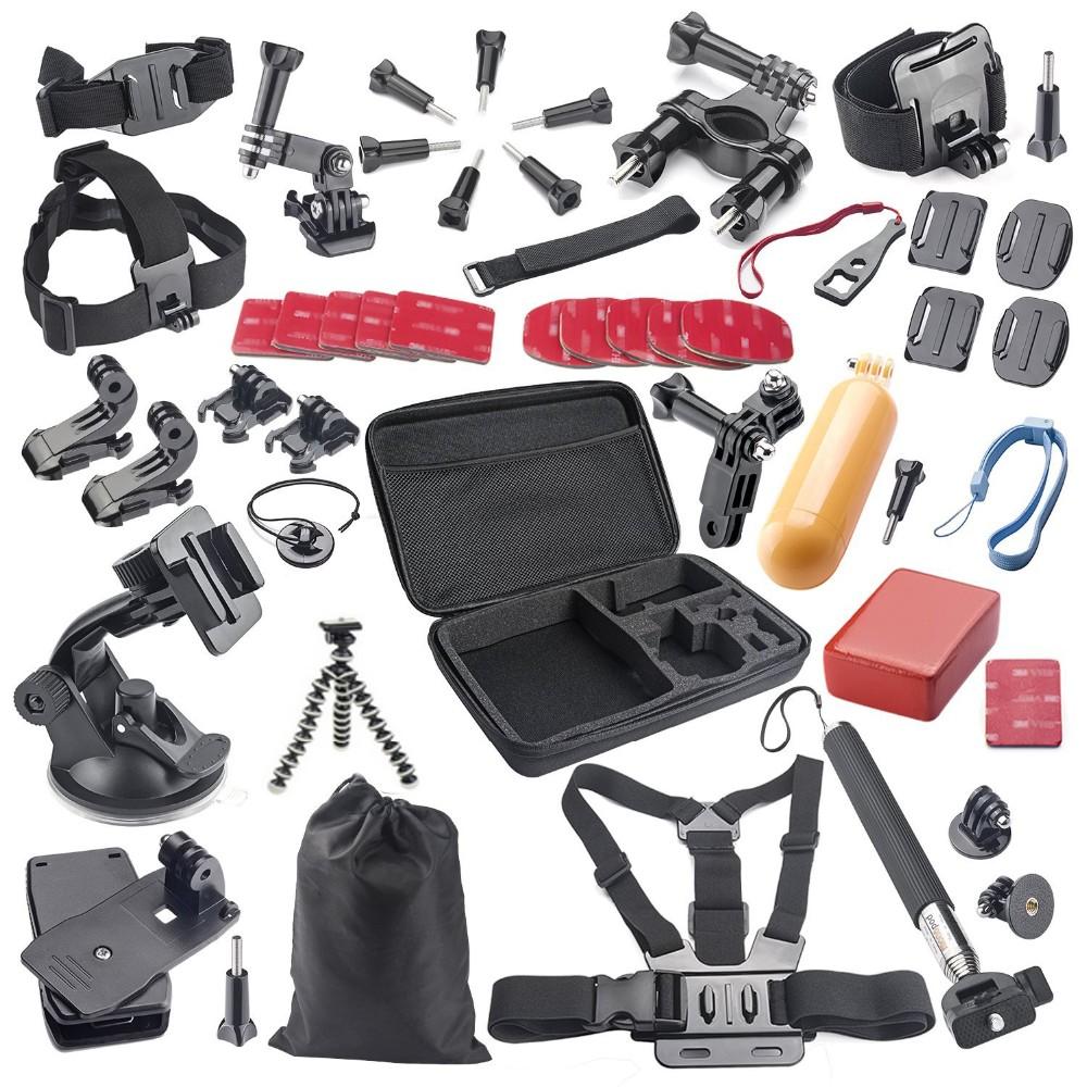 SOOCOO Action  Camera Accessories Set  for  S70/60B/60/C10 Gopro Hero 4 SJCAM SJ4000 SJ5000 xiaomi yi accessories