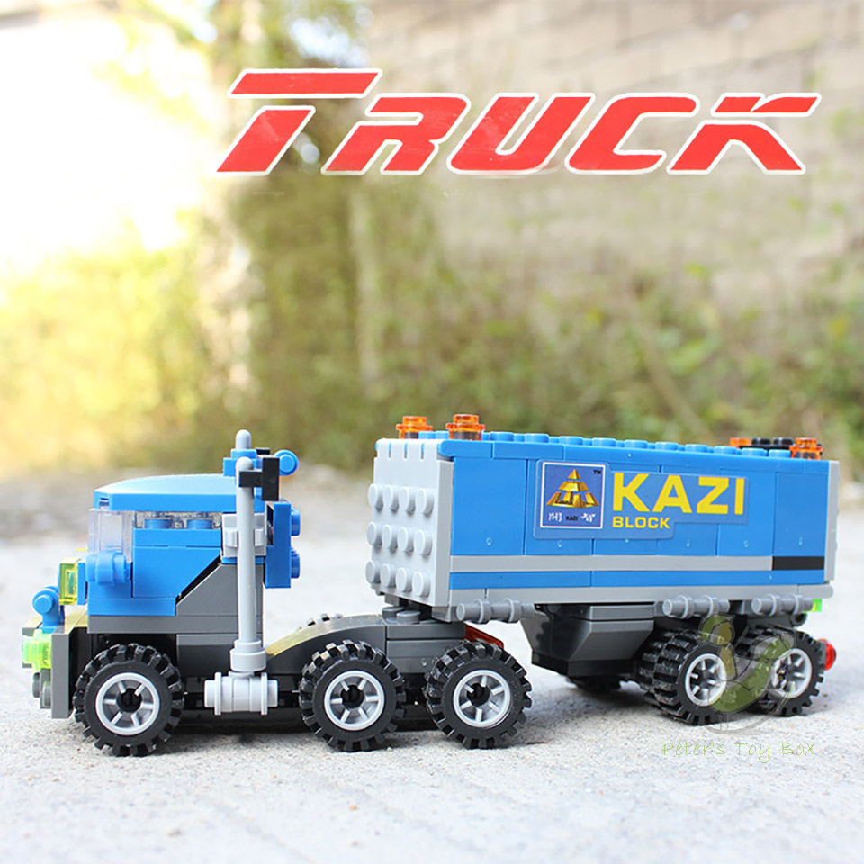 New Original KAZI 6409 city Truck Model Building Blocks Sets 163pcs/lot Deformation Car Bricks Toys Compatible legoes with W269(China (Mainland))