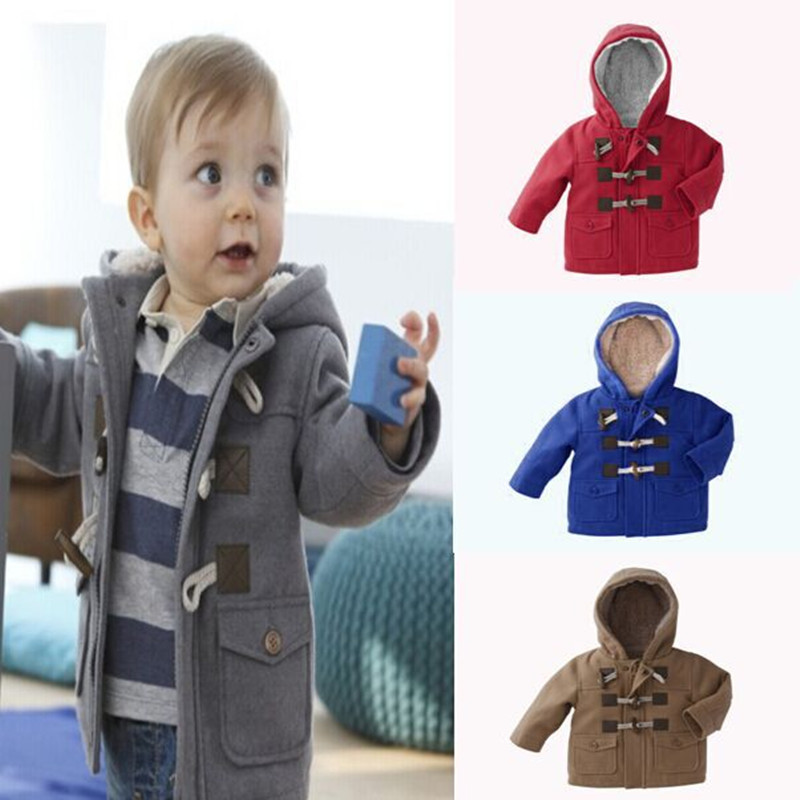 New 2015 baby Boys Children outerwear coat fashion kids jackets for Boy girls Winter jacket Warm hooded children clothing(China (Mainland))